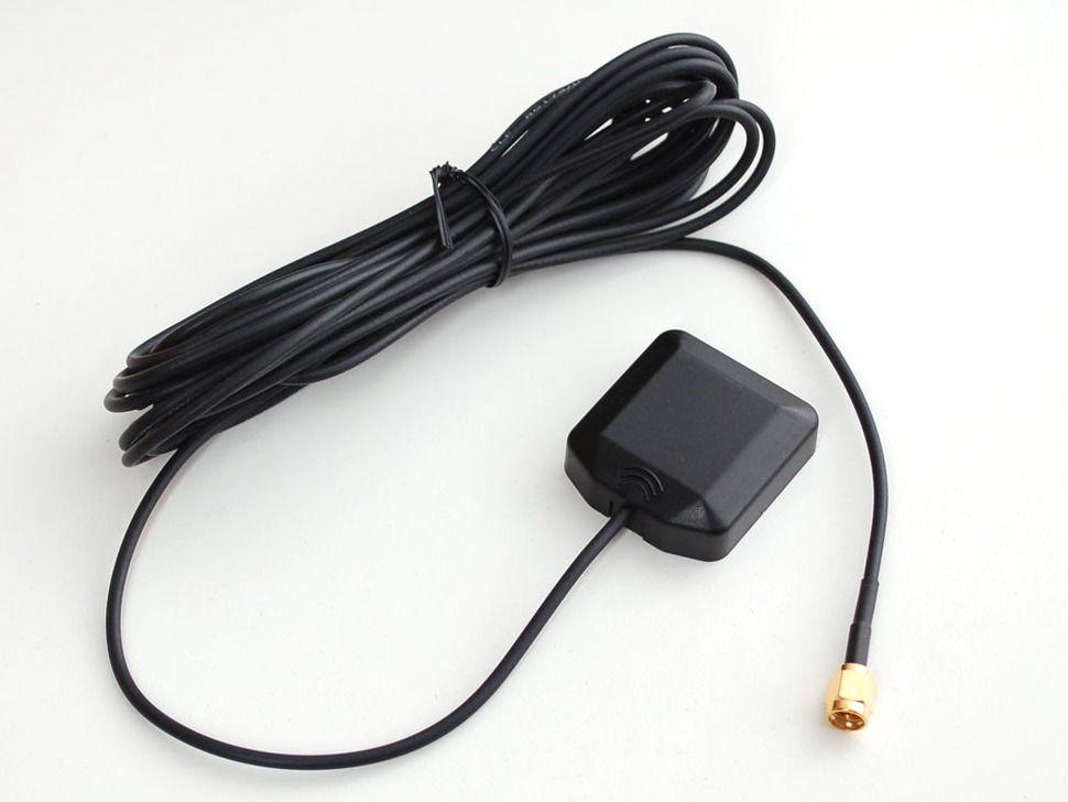 GPS Antenna - külső aktív antenna - 3-5V 28dB 5M SMA