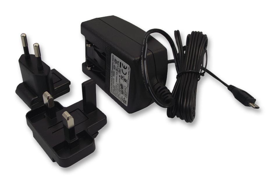 5V 2A microUSB-s tápegység Raspberry PI-hez