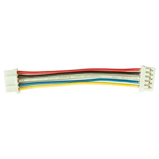 I2C kábel - 5 vezetékes 5 polusú 2mm anya csatlakozóval - IN830 modulhoz