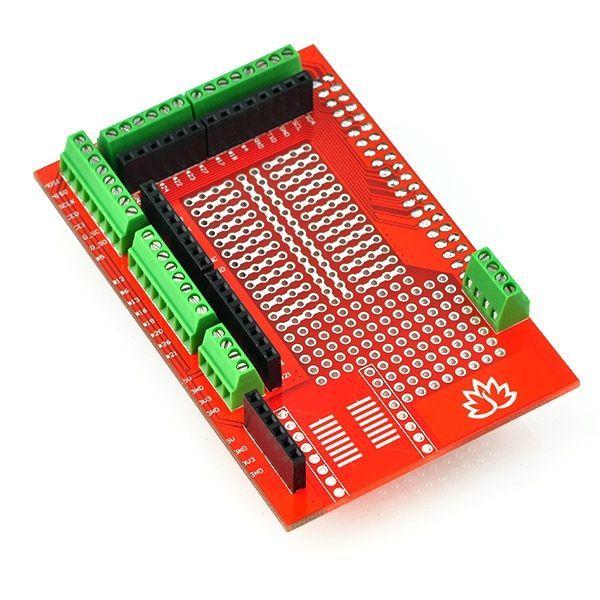 Prototípus NYÁK lemez Raspberry P Model B+-hoz