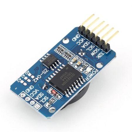 Precíziós I2C Real Time Clock modul hőmérséklet kompenzációval Raspberry PI-hez - DS3231