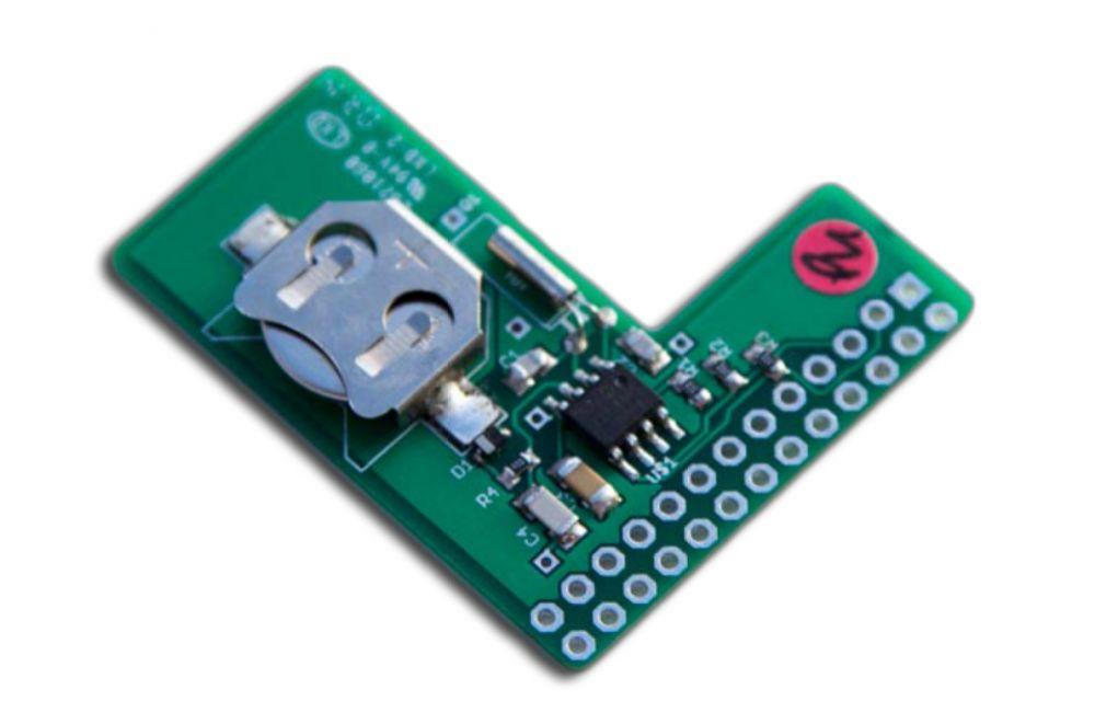 PiFace Real Time Clock modul - ajándék elemmel