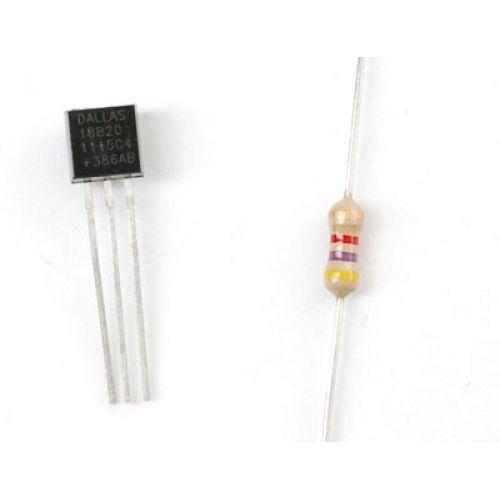 DS18B20 1 vezetékes digitális hőmérő szenzor