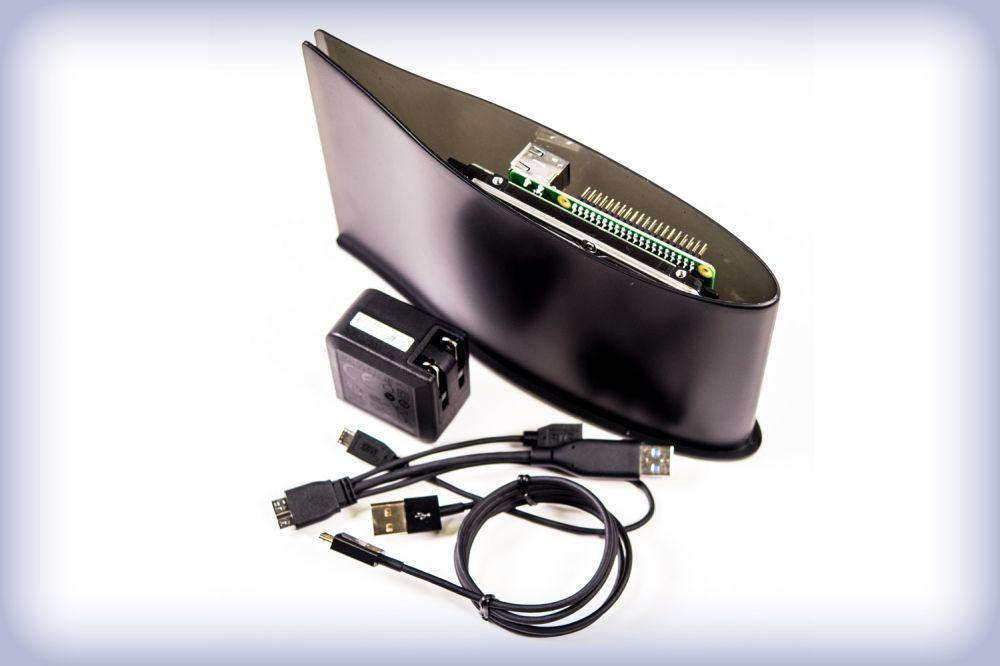 PIDrive Pro Csomag - 1TB  fekete plusz Raspberry PI 3