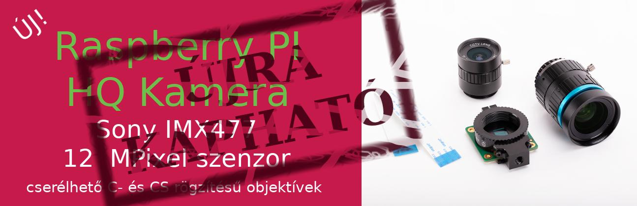 5MP Full HD kamera modul Raspberry PI-hez - Széleslátószögű halszemoptikával