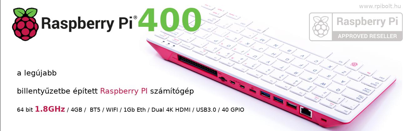 """A legújabb Raspberry PI termékek raktárról, az  """"rPI Bolt""""-ból, a hivatalos Magyarországi forgalmazótól"""