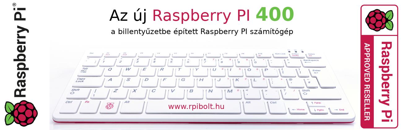 Megérkezett az Új Raspberry PI 400 - A billentyűzetbe épített Raspberry számítógép